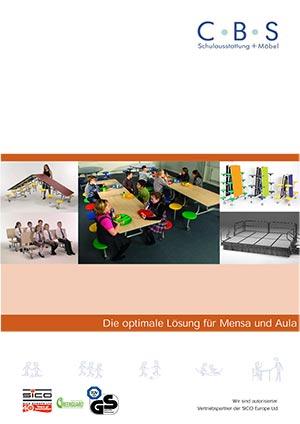 Bild Katalog Sitzmöbel für Mensa und Aula