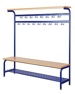 Stahl-Garderoben, frei stehend oder zur Wandmontage