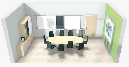 Raum für Gespräche für Eltern, Schüler oder andere Gremien